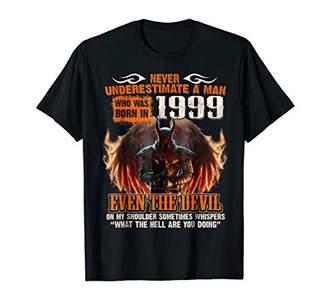 Birthday Man Born In 1999 Devil T-Shirt 20th Years Old