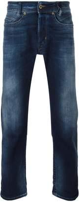 Diesel gradient detail slim-fit jeans