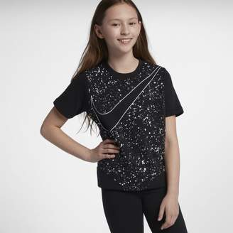 Nike Sportswear Older Kids'(Girls') Short-Sleeve Top