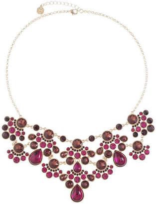 MONET JEWELRY Monet Jewelry Womens Purple Statement Necklace
