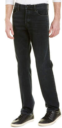 Vince Black Wash Slim Straight Leg