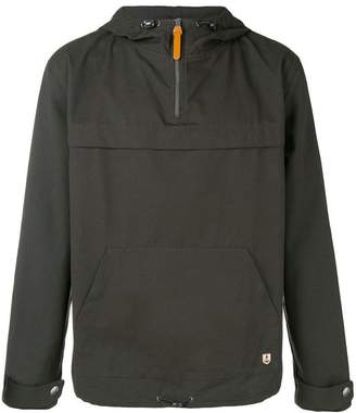 Armor Lux zipped neck hoodie