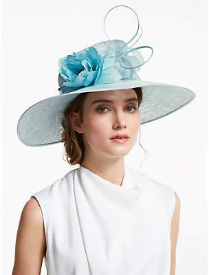 c50736992ae41 John Lewis   Partners Grace Flower Detail Wide Brim Occasion Hat