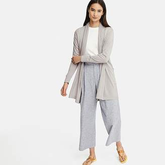 Uniqlo Women's Uv Cut Stole Long-sleeve Long Cardigan