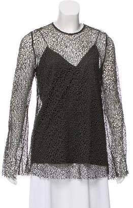Camilla And Marc Long Sleeve Lace Top