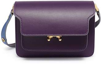 Marni 'Trunk' small leather shoulder bag