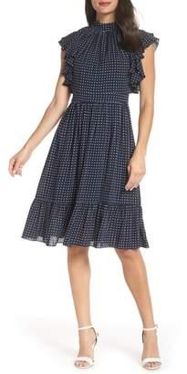 Chelsea28 Flutter Sleeve Dress