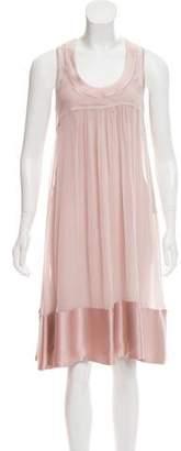 Burberry Sleeveless Silk Dress