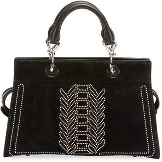 53f3794d2fa at Bergdorf Goodman · Altuzarra Shadow Suede Studded Tote Bag