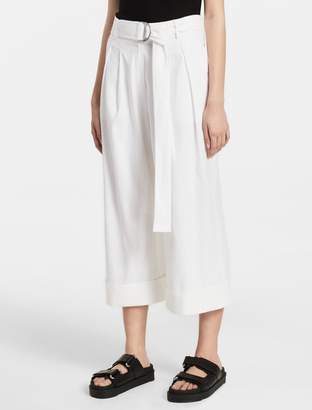Calvin Klein extreme wide belted pants