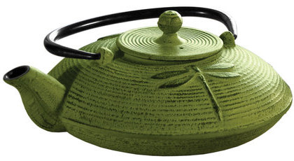 Primula Cast Iron Teapot 28oz Green