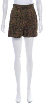 Thierry Colson Jacquard Mini Shorts