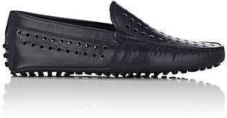 Tod's MEN'S PERFORATED LEATHER DRIVERS