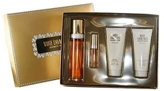 Elizabeth Taylor 4 Piece White Diamonds Fragrance Gift Set for Women