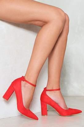 Nasty Gal We Know How You Block Heel