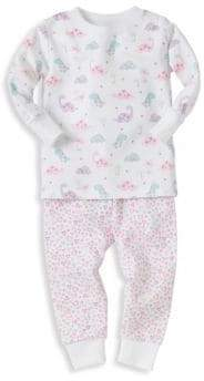 Kissy Kissy Baby's Two-Piece Dina Darlings Pajama Top & Pants Set