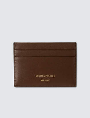 Common Projects Multi Cardholder In Soft Leather