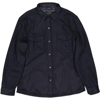 Sand Navy Wool Shirts