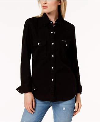 Calvin Klein Jeans Cotton Denim Shirt