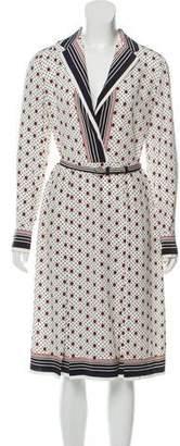 Celine Printed Silk Dress w/ Tags