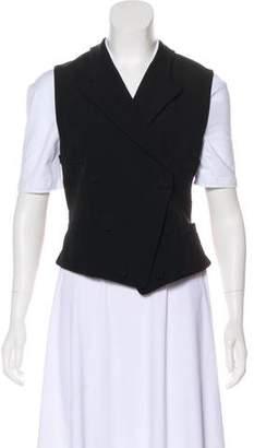 Gucci Wool Peak-Lapel Vest w/ Tags