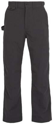 Snow Peak - Takibi Cotton Blend Ripstop Trousers - Mens - Black