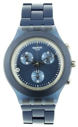 Swatch Men's SVCN4004AG Plastic Analog with Dial Watch