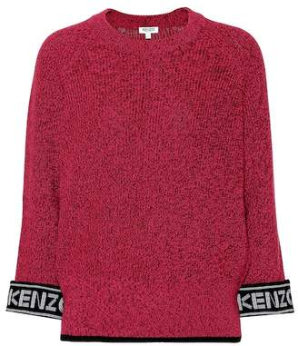 Kenzo Cotton and wool-blend sweater
