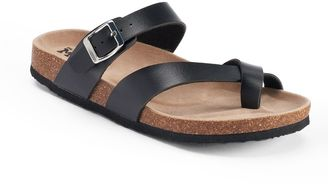 Mudd® Women's Toe Loop Sandals $24 thestylecure.com