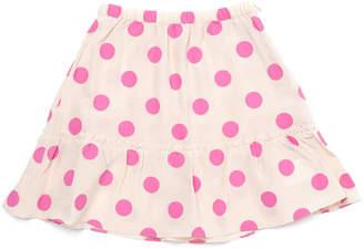 Marni (マルニ) - MARNI ドットプリント ペプラムスカート ピンク 2