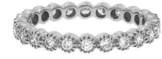 Couture Sethi Diamond Bezel Band Ring - White Gold