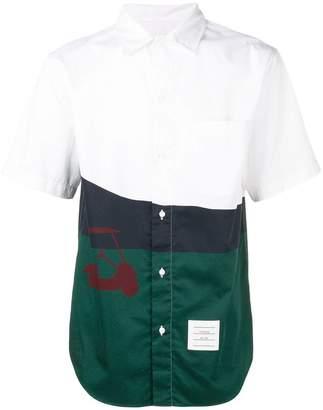 Thom Browne Golf Artwork Poplin Cuban Shirt