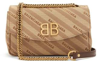 Balenciaga Bb Round S Bag - Womens - Beige