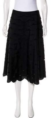 Max Mara Scalloped Knee-Length Skirt
