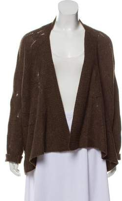 Vince Wool-Blend Open Front Cardigan