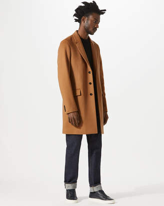 Jigsaw Camel Wool Cashmere Epsom Coat