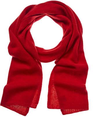 Portolano Women's Red Cashmere Scarf