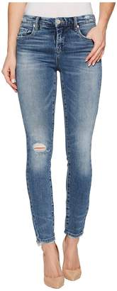 Blank NYC Denim Distressed Mid-Rise Skinny in Trip Switch Women's Jeans