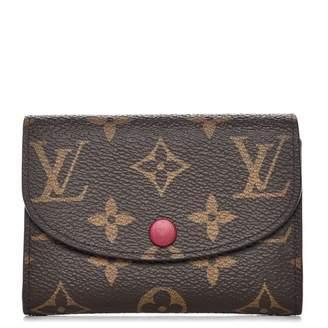 Louis Vuitton Coin Purse Rosalie Monogram Fuchsia