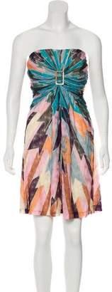 Missoni Strapless Structured Dress