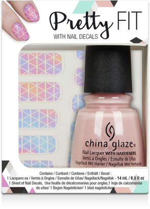 China Glaze Online Only Chic Physique Nail Decal Kit
