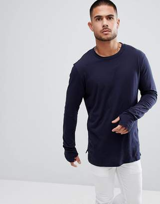 Religion Long Sleeve Top With Thumbholes