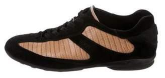 Tod's Embossed Low-Top Sneakers