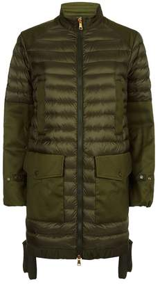 Moncler Cyanite Military Padded Parka Jacket