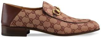 Gucci GG canvas Horsebit loafer