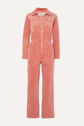 L.F.Markey - Danny Cotton-blend Corduroy Jumpsuit - Orange