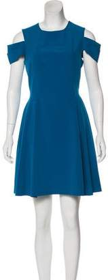 Zac Posen Z Spoke by Crew Neck Mini Dress