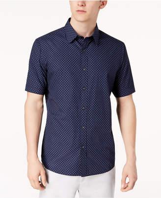 Michael Kors Men's Slim-Fit Printed Shirt