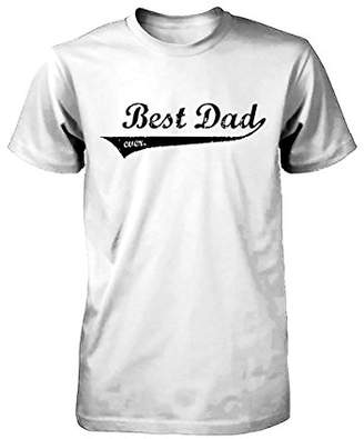 Love 365 Printing Best Dad Ever Swash Style T-Shirt - Father's Day Gift Idea, Gift for Dad