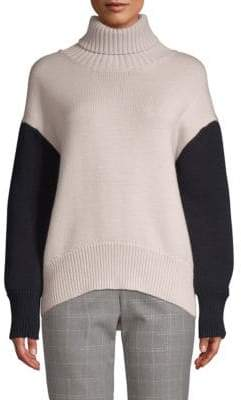 Peserico Multi-Color Chunky Turtleneck